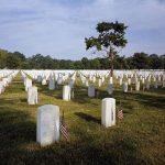 Memorial Day at Arlington National Cemetery in Virginia
