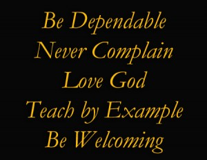 Never Complain
